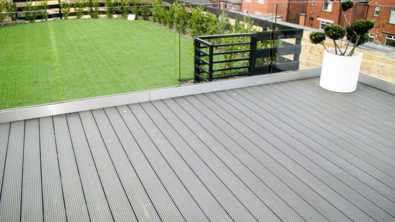 Which are the prominent features of composite decking?